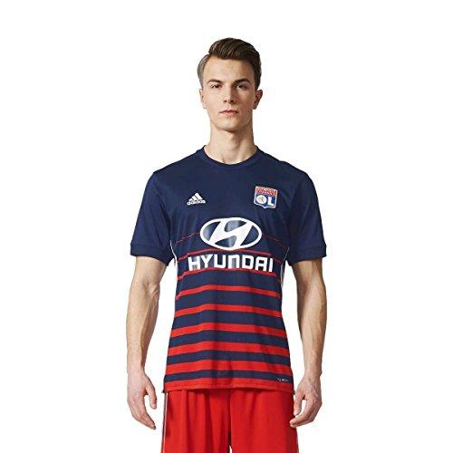adidas OL A JSY Camiseta 2ª Equipación Olympique de Lyon 2017-2018, Hombre,...