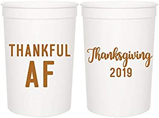 Thanksgiving Party Cups -