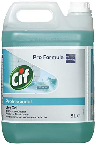 Cif Oxygel Orchidée - Nettoyant sols et multi-usages professionnel - 5L