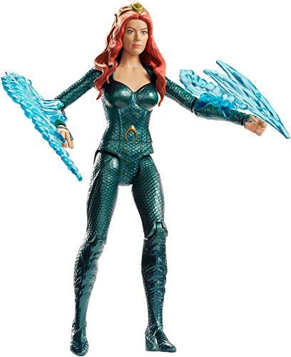 Justice League Figura Mera, 15 cm (Mattel FWX61) , color/modelo surtido