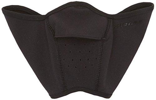 Ziener Kinder ITALO Junior facemask Skihelm-gesichtsmaske | Winddicht, Elastisch, Soft-shell, schwarz (black), S