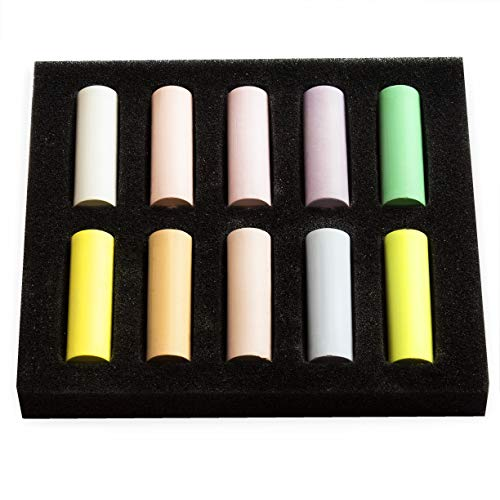 Royal Talens Rembrandt Lot de 10 pastels souples Demi taille