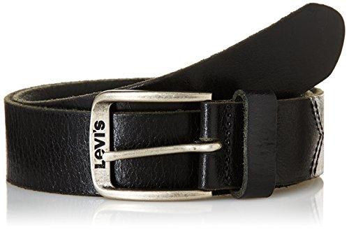 Levi's - Classic Top Logo Buckle, Cintura Uomo, Nero (Black), 100 cm (Taglia Produttore: 100)