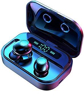RONSHIN M7 TWS 5.0 Bluetooth Earphones Power LED Display Wireless Earphone IPX7 Waterproof Sport Earbuds 6D Stereo Game He...