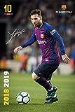 Lionel Messi Poster FC Barcelona Saison 2018/2019