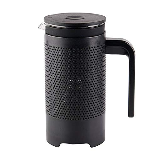 Buy Bargain French Press Coffee Maker Household Portable Thin Mouth Stainless Steel Filter Glass Han...