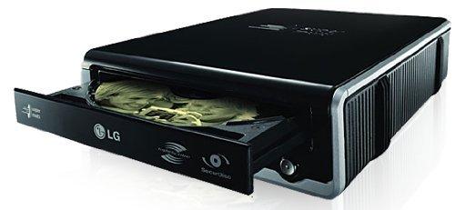LG Super-Multi External DVD Rewriter with SecurDisc and LightScribe GE24LU20 (Renewed)