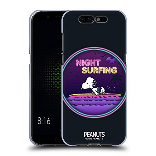 Head Hülle Designs Offizielle Peanuts Nacht Surfer Snoopy Aloha Disco Soft Gel Handyhülle Hülle Huelle kompatibel mit Xiaomi Black Shark