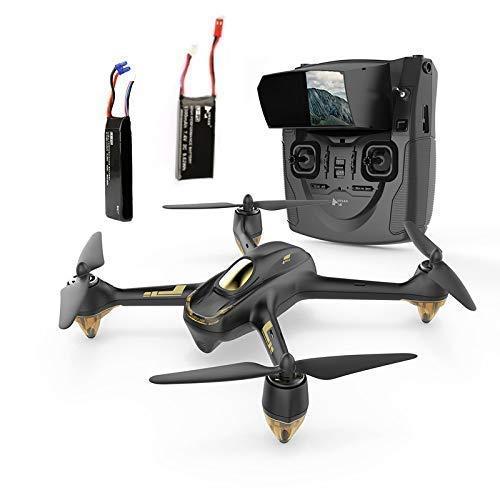 HUBSAN H501S X4 Brushless Drone GPS 1080P HD Cámara FPV Cuadricóptero Sígueme RTH Modo sin Cabeza con H901A Transmisor Negro