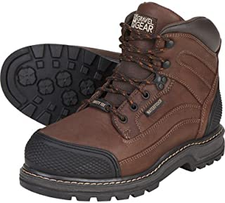 Gravel Gear Waterproof 6in. Steel Toe Work Boot - Brown
