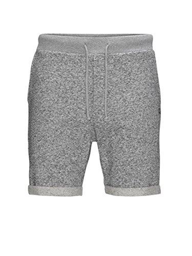 Jack & Jones Boost Short de Sport, Gris (Grey Mélange/Comfort Fit Mélange), FR: 40 (Taille Fabricant: M) Homme