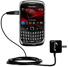 Gomadic Advanced Rapid Wall AC Charger Compatible with BlackBerry Curve 3G 9330 - Built Brand TipExchange