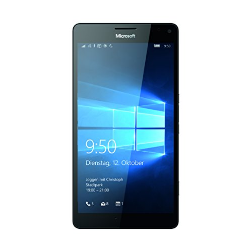 Microsoft Lumia 950 XL Smartphone (5,7 Zoll (14,5 cm) Touch-Display, 32 GB Speicher, Windows 10) weiß