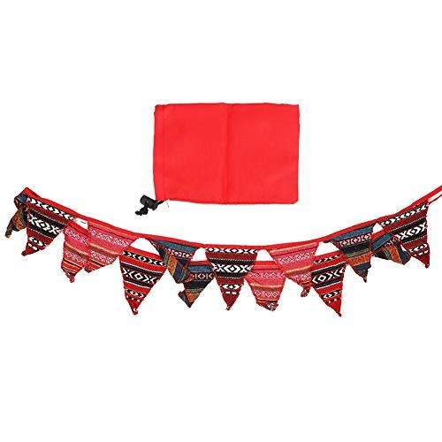 MAGT Drapeau de décoration de Camping, Tente de Style National bannières suspendues de Mode Tente Fanion décoration bannières suspendues pour Camp de Tente en Plein air