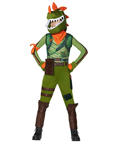 Kids Rex Fortnite Costume | OFFICIALLY LICENSED - M