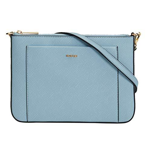 Parfois - Clutch - Bolso Bandolera Con Bolsillo Exterior - Mujeres - Tallas M - Azul
