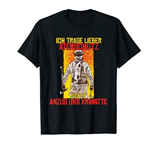 Ich trage lieber Atemschutz statt Anzug und Krawatte! T-Shirt