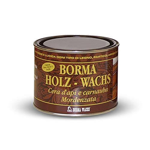 Möbelwachs farblos zur Holzschutz und Möbelpflege 500 ml bee wax Holzwachs Wachs BORMA Holzschutzwachs transparent mit reinem Bienenwachs zur Holzpflege für Holzmöbel