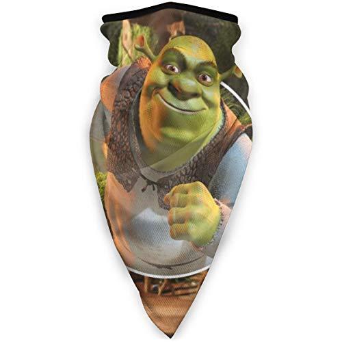Aimhouse Shrek Maske Kopfbedeckung Gesicht Schal Abdeckung Outdoor Kopfband Turban Hals Winddicht Fall Sonnenschutz Nahtloses Bandana Halstuch
