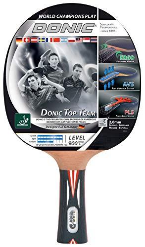 Donic-Schildkröt Top Teams 900 Racchetta Tennis Tavolo con Tecnologia AVS & Impugnatura Pls-/Ergo, Multicolore