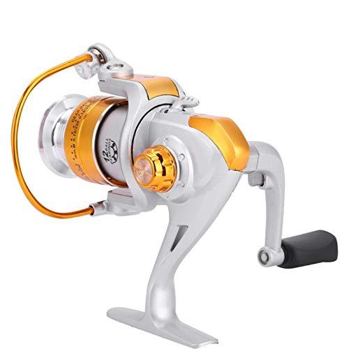KUIDAMOS Carrete de Pesca, Todo - Carrete Ligero de Pesca en mar con Mosca con diseño de Copa de Alambre metálico para Pescar(BL5000)