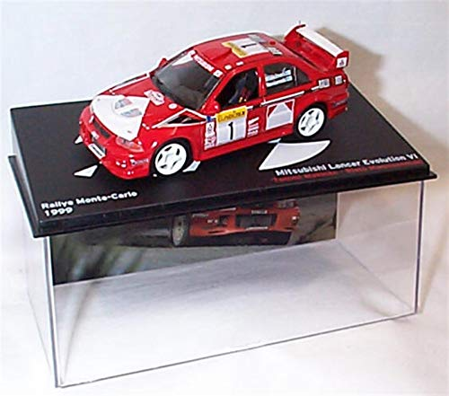 ixo Mitsubishi Lancer EVO V1 Montecarlo 1999 Tommi Makinen Coche a Escala 1:43 Modelo a presión