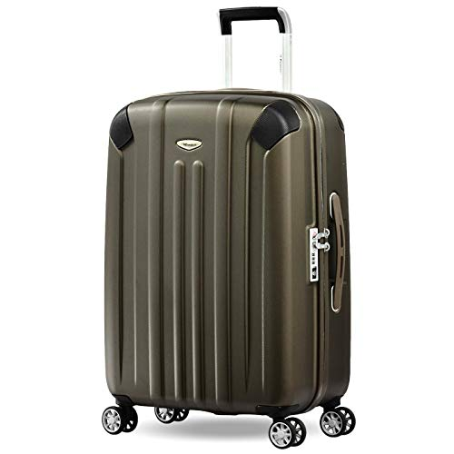 Eminent Suitcase Boulder 66 cm 71 L Extra Corner Protection 4 Silent Double Wheels TSA Lock Brown