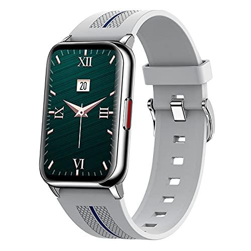 Reloj Inteligente H76 para Hombres Y Mujeres Contador de Calorías del Podómetro del Monitor del Ritmo Cardíaco Reloj Deportivo Bluetooth Impermeable IP68 con Pantalla HD de 1 57