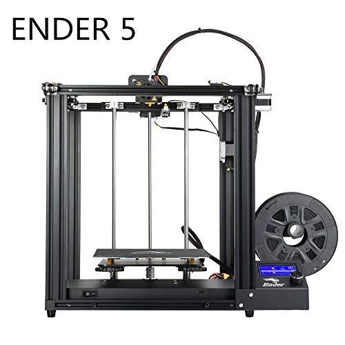 Laecabv Creality CR-10S5 CR-10 CR-10S4 CR-10S Ender-3 Ender-3 Pro Ender-5 CR-100 CR-X CR-10S Pro CR-10MAX CR-10V2 CP-01 kit de impresora 3D DIY, negro