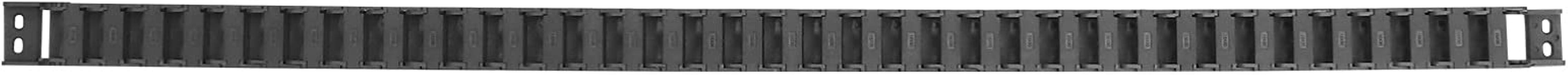 iplusmile De plastic Semi Gesloten Zwarte Flexibele Geneste Drager Treklijn 15mm x 30mm van de Kettingkabel voor Elektrisc...