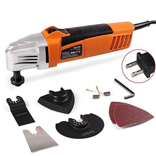 260W alta potencia oscilación vibración kit multi-herramienta Woodworking máquina trimmer eléctrico pala...