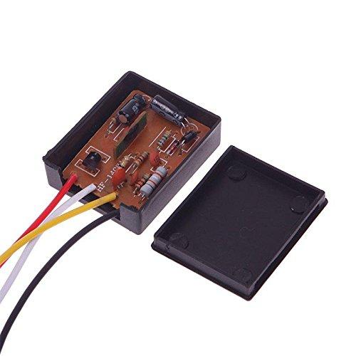 Sensor táctil para lámpara de escritorio de STOREINBOX con regulador de intensidad para bombillas AC 220V. Color negro., SIB_466366180
