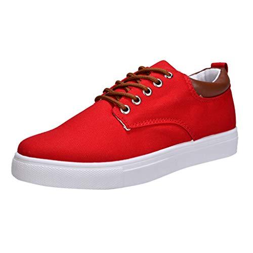 Zapatos de Cordones para Hombre,ZARLLE Zapatos de Moda para Hombres Zapatos Edición Coreana Zapatos de Estudiante permeables de Ocio Casual Shoes Attività Commerciale Sneakers