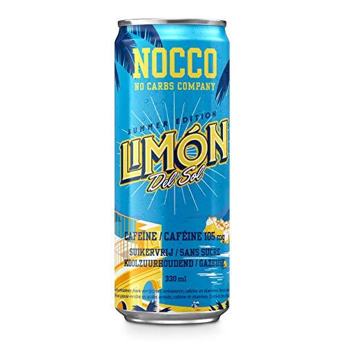 NOCCO BCAA (No Carbs Company) (24 botes de 330 ml)
