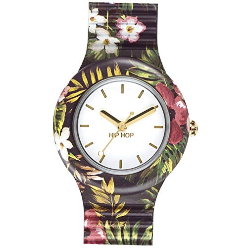 Orologio HIP-HOP DONNA JUNGLE FEVER quadrante MONO-COLORE BIANCO movimento...