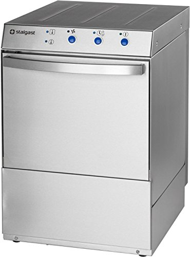 Gläserspülmaschine Universal inkl. Klarspülmitteldosier- Reinigerdosier- und Ablaufpumpe 695 x 535 x 635 mm 230 V 2,73 kW aus Edelstahl aus eigener Fertigung