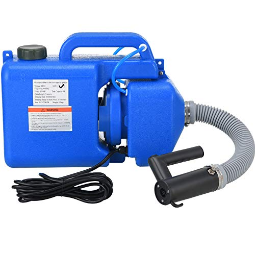 LONYEON 8L Electric ULV Fogger Sprayer,Ultra-Low Atomizer Backpack Sprayer Machine,Large Area Atomization Distance,Suitable for Indoor Outdoor Garden Hotel Station School Home