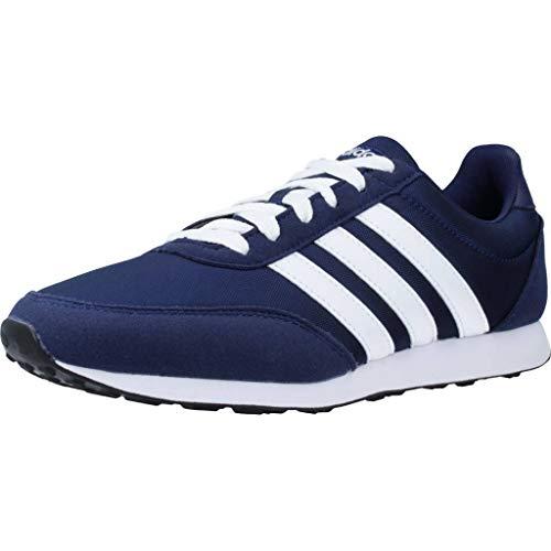 adidas V Racer 2.0, Zapatillas de Running para Hombre, Azul (Dark Blue/FTWR White/FTWR White Dark...