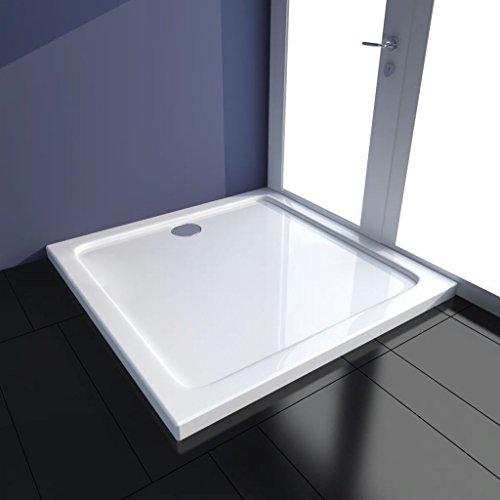 sanitair sanitair armatuur hardware & onderdelen douche-onderdelen vierkant ABS douchebak 90 x 90 cm