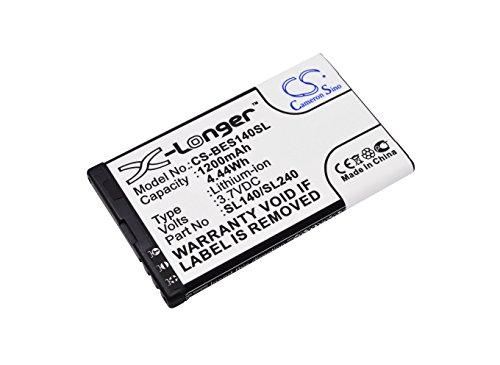 CS-BES140SL Akku 1200mAh Kompatibel mit...