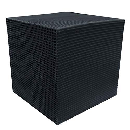 Aquarienfilter Aquarium-Wasserfilter,10 * 10 * 10cm Water Purifier Cube, Aquarium Biochemischer Baumwolle Filter Schaumstoff Fisch Tank Universal Filtervlies Nitratentferner (Schwarz, 10 * 10 * 5cm)