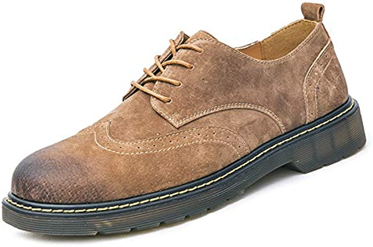 LOVDRAM Chaussures Décontractées Hommes Chaussures Casual Chaussures Décontractées PU Sculpté Hommes Chaussures Big Head Hommes Mode