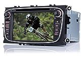 iFreGo 7 Pulgadas 2 DIN Radio de Coche con navegación DVD navegación GPS NAVI Radio de Coche USB Dab +, SD Bluetooth, Windows CE
