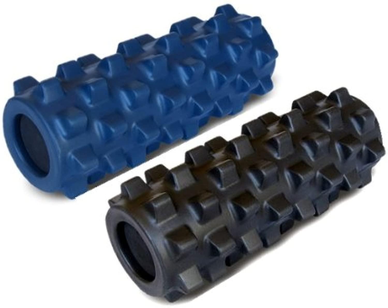 【2個セット】ランブルローラー/Rumble Roller(スモールサイズ/スタンダードタイプ+ハードタイプ) トリガーポイント&筋筋膜リリース/マッサージ&ストレッチローラー