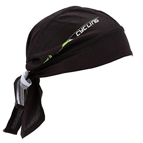 Lixada Bufanda Pirata de Respirable Secado Rápido Sombrero para Bicic