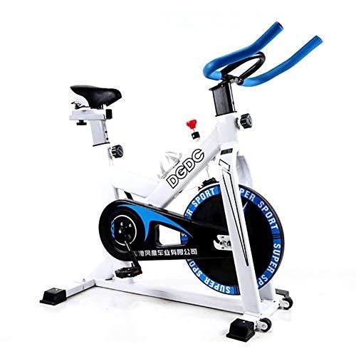 TQJ Maquina de Pedales Sentada El Ejercicio de la Aptitud Bici Salud Cinta de Correr en Bicicleta Máquina de Pedales (Color : Blue)
