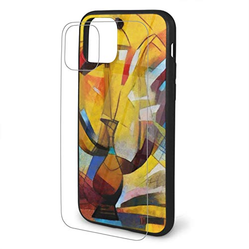 iPhone TPU Glass Phone Case Laptop Ps5 Gifts Unisex Ink Angle Alternative Picasso Case for iPhone 11/11 Pro / 11 Pro Max