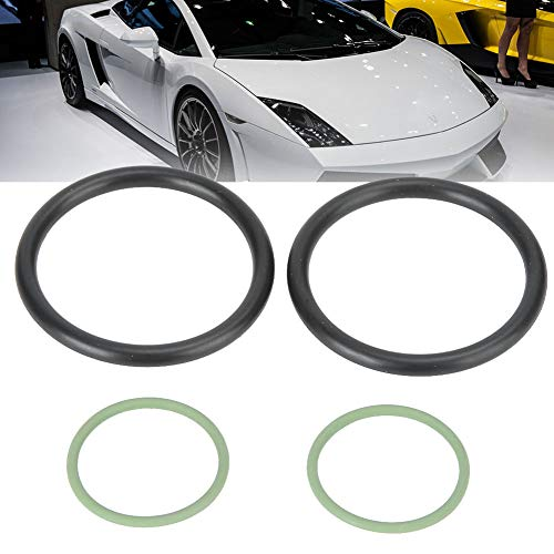 Junta tórica de solenoide, sello de válvula de válvula variable de motor adecuado, solución ideal de goma para Vanos N40 N42 N46 N45 (verde)