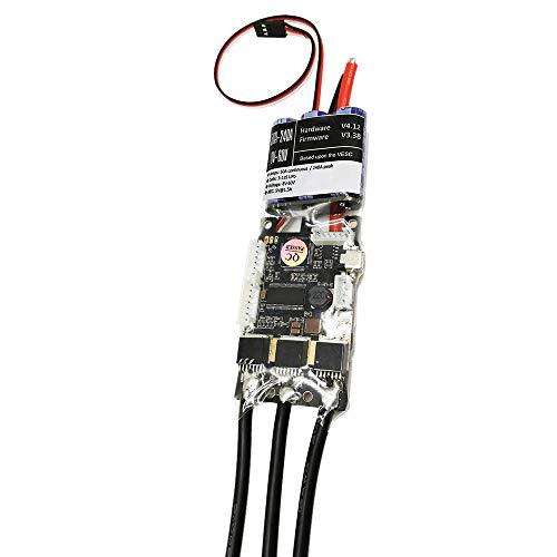 Vaorwne Fsesc V4 50A Sk8-Esc W / 5V / 1,5A Bec für Elektrische Skateboard Rc Auto E-Bike E-Roller Roboter