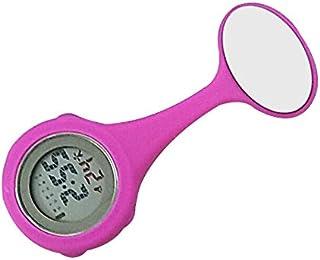 FlusRap Fob Watch,Pocket Watch,Watch Classic,Doctor Watches,Nurses Doctor Quartz Fob Watch Silicone Case Band Brooch Pocket Watch